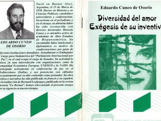 Eduardo Alberto Cuneo de Osorio Iº Presidente honorario del Instituto CAECBA