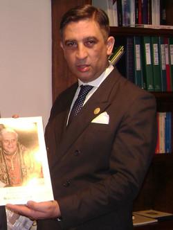 Homenaje a S.S. Benedicto XVI