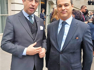 Encuentro del Señor Rector con el embajador Marcelo Gabriel Suárez Salvia