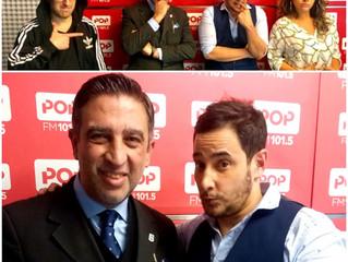 El Prof. Gavaldá y Castro en FM Pop
