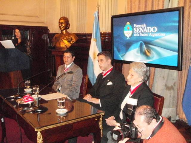 Salón Eva Perón Honorable Senado