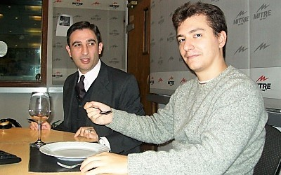 Prof. Gavaldá y Ariel Tarico