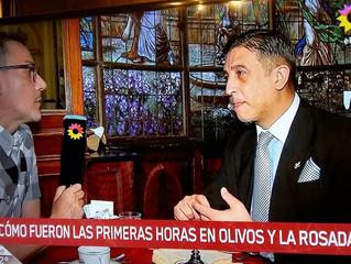 El Prof. Gavaldá y Castro nuevamente en Telenoche 2019