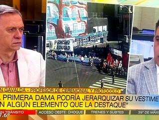 El Prof. Gavaldá y Castro en Arriba Argentinos 2019