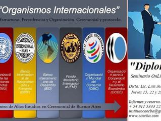 Seminario: Diplomacia y Organismos Internacionales