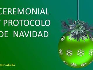 Seminario: Ceremonial y Protocolo de Navidad y Año Nuevo. El arte de recibir en torno a las fiestas