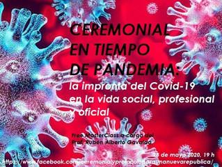 Free MasterClass Ceremonial en Tiempo de Pandemia