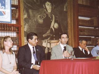 Anibal Gotelli en en Instituto CAECBA