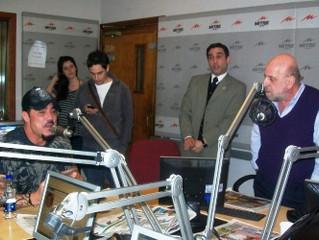 El Prof. Gavaldá y Castro destacado columnista de Radio Mitre
