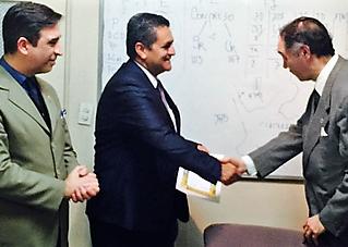 Visita del Señor Presidente de la Academia Nacional de Heráldica de Colombia