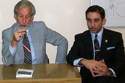 Con el Dr. Cuneo de Osorio