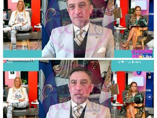 El Profesor Gavaldá y Castro en la TV de Miami, USA