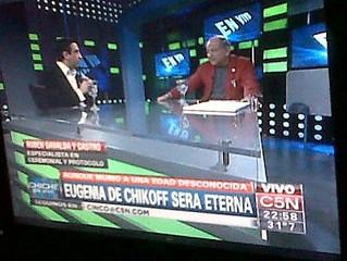 Grandes entrevistas: Samuel Gelblung para Chiche en Vivo / C5N tv