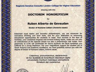Doctorem Honorificum