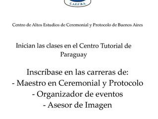 Inicio de actividades en la Sede Académica de Asunción del Paraguay