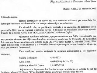 El Prof. Gavaldá y Castro y el Instituto Argentino de Ceremonial