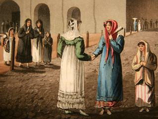 NI MIRIÑAQUE, NI PEINETONES, NI PARAGUAS EN MAYO DE 1810