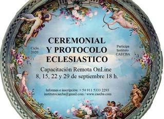 Seminario: Ceremonial y Protocolo Eclesiástico