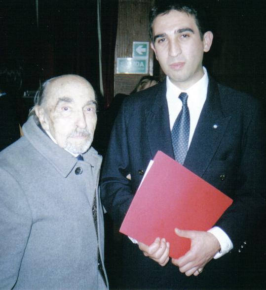 Con el Emb. Jorge G. Blanco Villalta