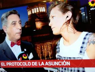 El Prof. Gavaldá y Castro en Telenoche