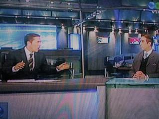 Grandes entrevistas: Rodolfo Barili para Telefe Noticias por Canal 11 TV.
