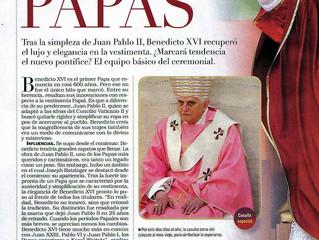 """""""El look de los Papas"""" la palabra del Prof. Gavaldá y Castro en revista Noticias"""