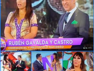 El Prof. Gavaldá y Castro en Incorrectas junto a Moría Casan