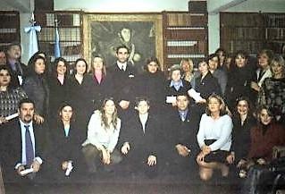 Comisión de ex alumnos del Instituto CAECBA