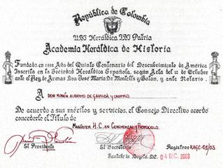 Prof. Rubén Alberto Gavaldá y Castro: Magister honoris causa en Ceremonial y Protocolo