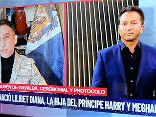 El Prof. Rubén A. Gavaldá y Castro vuelve a hablar de la realiza británica a través de Canal 9 TV