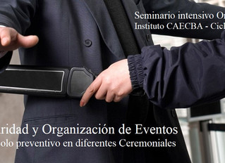 Seminario OnLine sobre Seguridad y Organización de Eventos