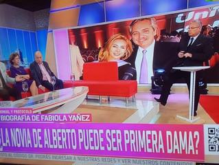 Sobre la Primera Dama el Prof. Gavaldá y Castro en América TV