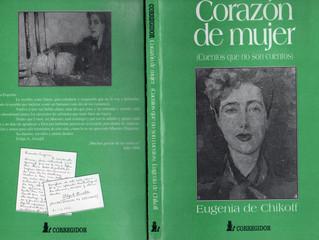 Eugenia de Chikoff IIª Presidenta honoraria del Instituto CAECBA
