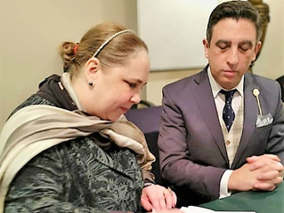 Firma de Acuerdo Internacional