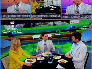 """Protocolo del G20 2018 en """"Hay que Ver"""" por Canal 9 TV"""