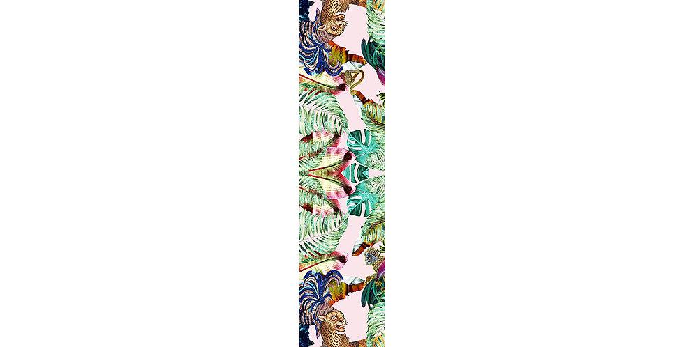 Jungle Depths - Skinny scarf - Pink
