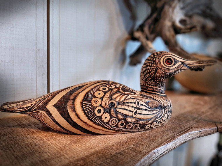 Pyrography by Rose Beitzel