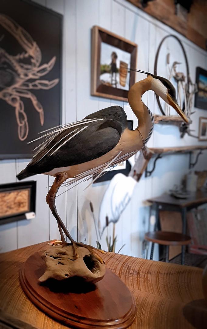 Warren Brown Bird Carvings