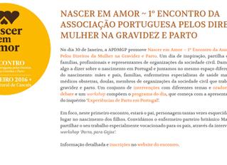 Associação portuguesa pelosDireitos da Mulher na Gravidez e Parto