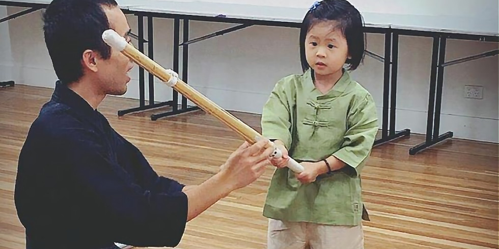 Japanese and Kendo Martial Art for Kids