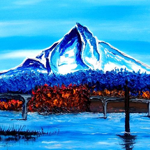 Mount Hood At Dusk#144