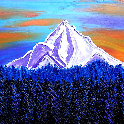 Mount Hood At Dusk #135