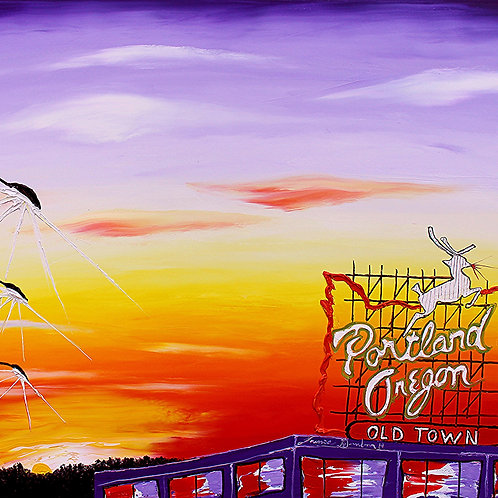 Portland Oregon Sign #130