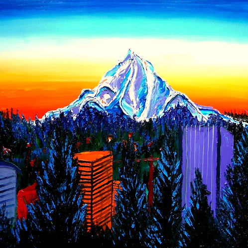Mount Hood At Dusk #15