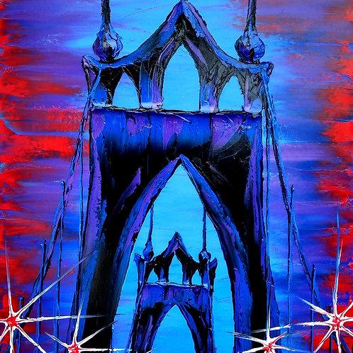Blue Night Of St John's Bridge #2