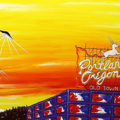 Portland Oregon Sign #129