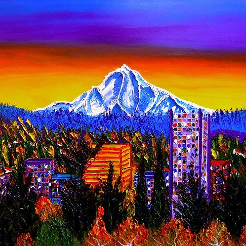 Autumn Colors Of Mount Hood #1