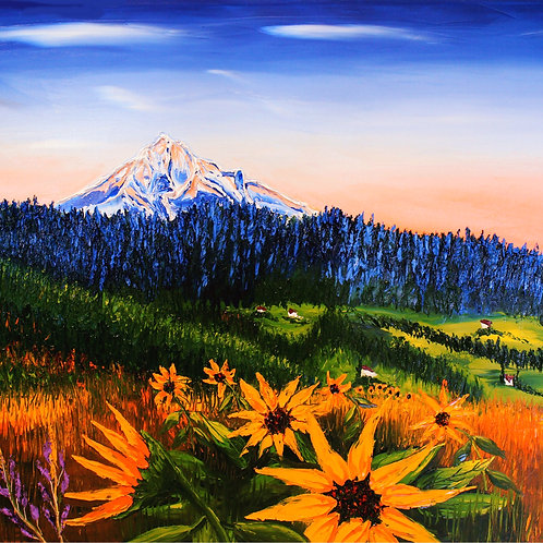 Autumn Colors Of Mount Hood #2