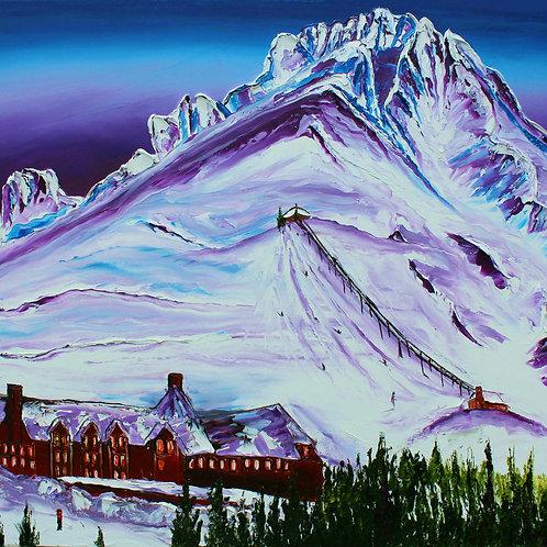 Mount Hood Over Timberline Lodge #1