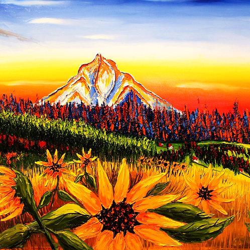 Autumn Colors Of Mount Hood #3